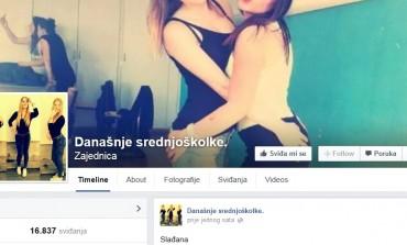 Današnje srednjoškolke: Stranica koja je izazvala pometnju na Facebook-u