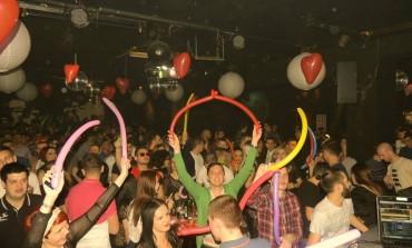 Odličan My Valentine's rave u Klubu Palma u Tuzli