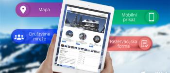 mojWeb vam predstavlja: Web stranica za hotel, motel, apartman ili restoran!