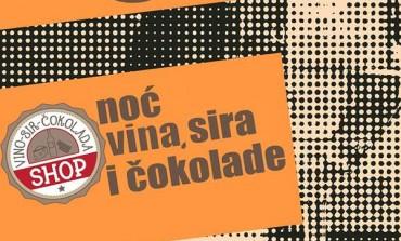 Pozivamo vas na: Noć vina, sira i čokolade u Urbanu