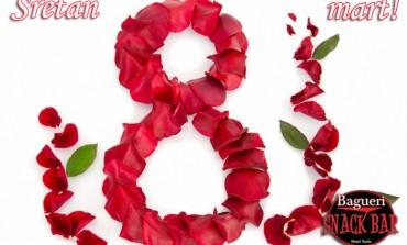 Obilježite Dan žena na najbolji mogući način u Snack Baru BAGUERI/ Hotel Tuzla
