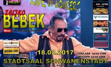 U subotu rock'n'roll fešta Željka Bebeka i Cult Banda