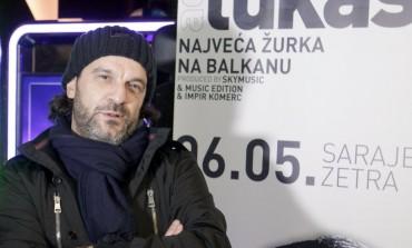 """Aca Lukas u Sarajevu najavio """"Najveću žurku na Balkanu"""""""