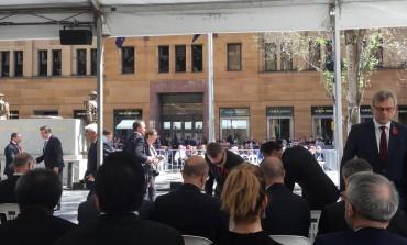 Đemila Talić Gabriel, počasna konzulica BiH za regiju Novi Južni Vels, na obilježavanju Dana sjećanja na žrtve Prvog svjetskog rata u Sydneyu