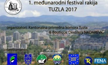 Sve je spremno za 1.međunarodni festival rakija Tuzla 2017
