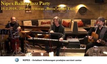 Rezervišete na vrijeme karte za Nipex Balkan Jazz Party