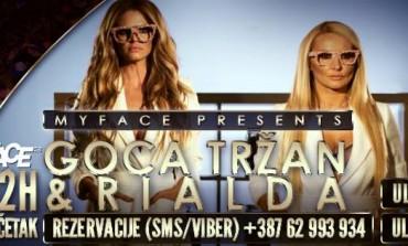 Atraktivne Goca Tržan i Rialda Karahasanović u petak vas pozivaju na najbolju zabavu