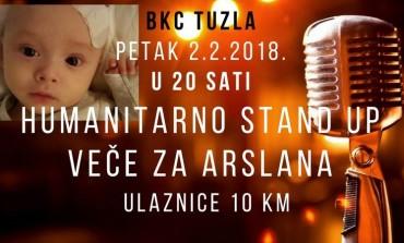 U petak - Humanitarno stand up veče za Arslana u BKC-u Tuzla