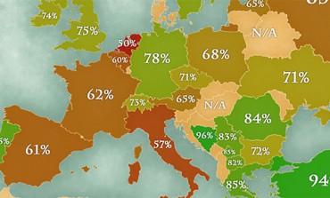 """Ko je najčišći, a ko najprljaviji u Evropi?  I ko najčešće pere ruke i kako """"stoji"""" po tom pitanju BiH i susjedi"""