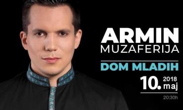 Armin Muzaferija pred koncert karijere: Na sceni Doma mladih će biti 15 muzičara uz koje ću uz moje pjesme izvoditi sevdalinke i ilahije