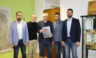 Načelnik Općine Ilidža Senaid Memić upriličio prijem i nagradio šampione Edina Sinanovića i Sadina Hadžajliju
