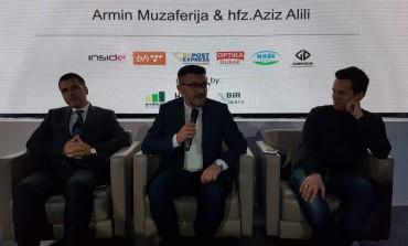 """Armin Muzaferija  i hafiz Aziz Alili predstavili spot i ilahiju """"Tvom Resulu"""" u Gazi Husrev-begovoj biblioteci u Sarajevu"""