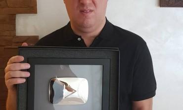 Srebrna plaketa za Sašu Matića!