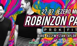 ... to be continued: Ljeto dobre zabave na jezeru Modrac se nastavlja 27.jula uz Robinzon party i PROK FITCH