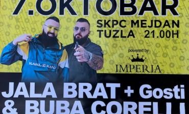 Jala Brat i Buba Corelli spremaju veliki koncert 7. oktobra u Tuzli