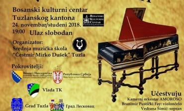"U subotu ""VEČERI BAROKA"" u BKC-u Tuzla"