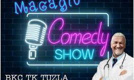 "BKC Tuzla: 07.februara stand up komedija ""Macaglu"" Dragana Marinkovića Mace"