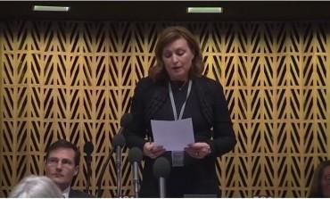 Zbog engleskog: Govor predstavnice Srbije u Savjetu Evrope hit na internetu (VIDEO)