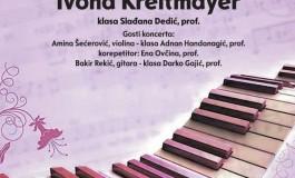 U četvrtak solistički koncert Ivone Kreitmayer u BKC-u