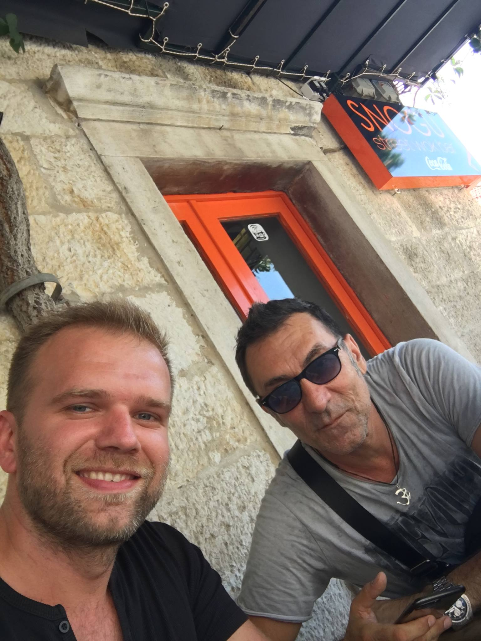 Armin Hadzic i Branko Djuric Djuro