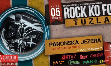 U petak Rock Ko Fol na Panonici