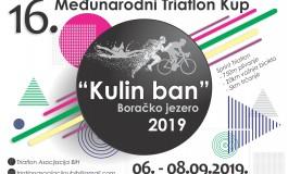 Triatlon Kup Kulin ban na Boračkom jezeru od 6. do 8. septembra