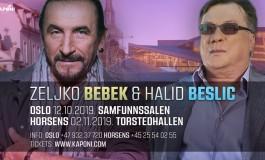 Halid Bešlić i Željko Bebek spremaju spektakle u Skandinaviji
