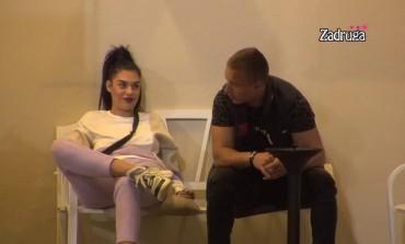 NAKON SVAĐE SVE JE SLAĐE! Mina i Orozović ZAVRŠILI pod jorganom, pa se prepustili strastima! (VIDEO)