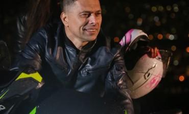Alen Hrbinić furao na motoru po sarajevskim ulicama