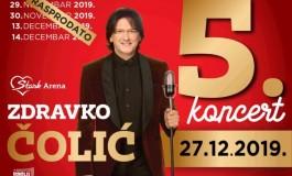 Veliki interes i za peti nastup Zdravka Čolića u beogradskoj Areni, zakazao i velike koncerte u Kanadi