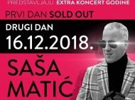 RASPRODATO: Saša Matić zakazao drugi koncert u zagrebačkoj Areni!