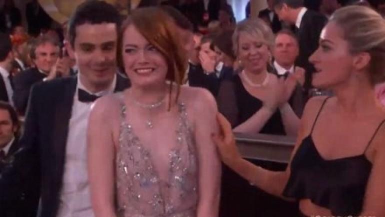 Cijeli svijet umire od smijeha: Emma Stone se brutalno osramotila na dodjeli Zlatnih globusa