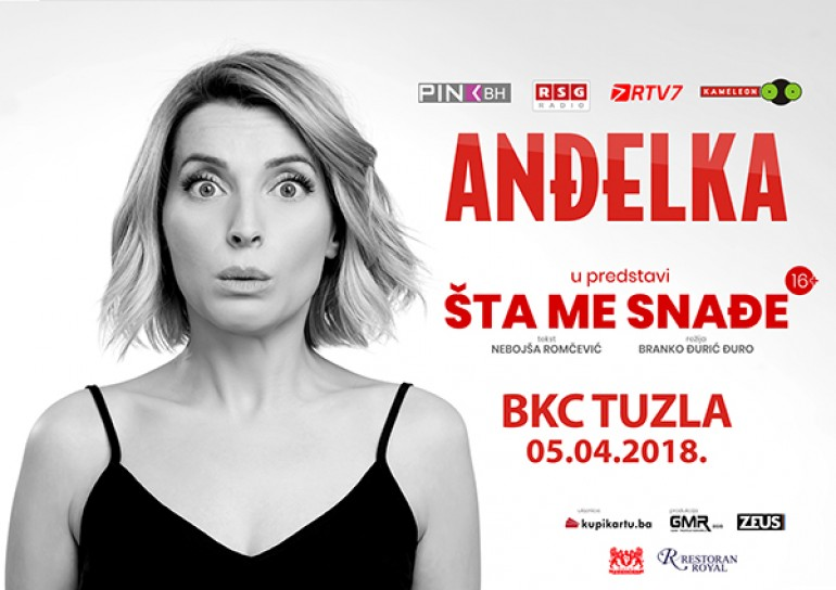 Hit predstava Anđelke Prpić u Tuzli