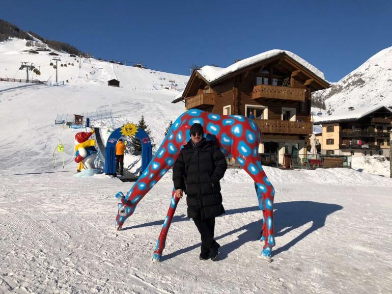 Alen Islamović aktivno odmara u Italiji: Skijanjem održavam kondiciju koja mi treba za koncerte