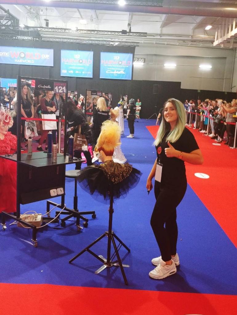 Historijski uspjeh mladih bh. frizera: Amna Bašić  iz Sarajeva postala svjetska juniorska prvakinja