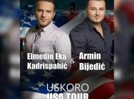 """Armin Bijedić uskoro objavljuje novi singl """"Snjegovi""""- Sve je spremno za američku turneju sa Elmedinom  Kadrispahićem"""