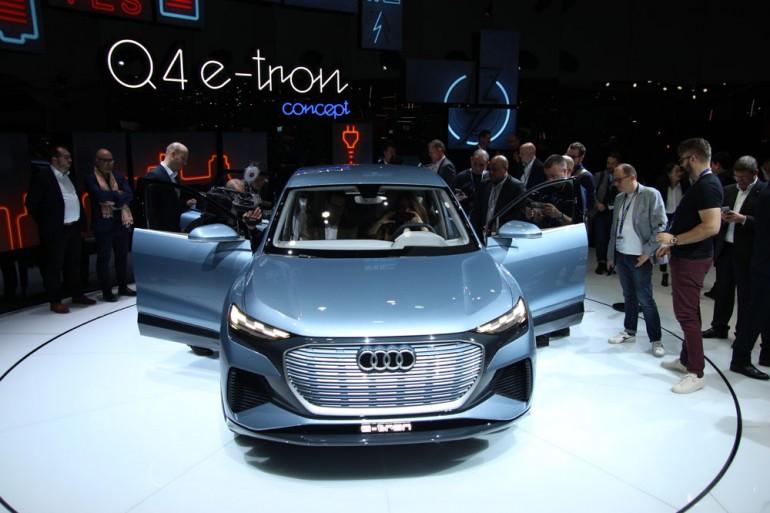 Audi Q4 e-tron koncept predstavljen na sajmu automobila u Ženevi