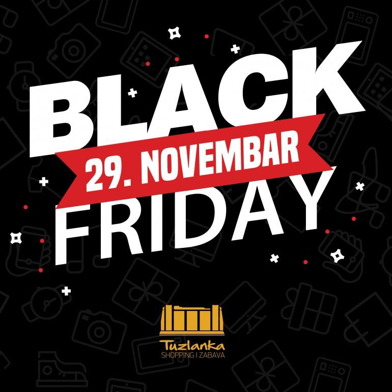Black Friday u Robnoj kući Tuzlanka – Osvojite 500KM