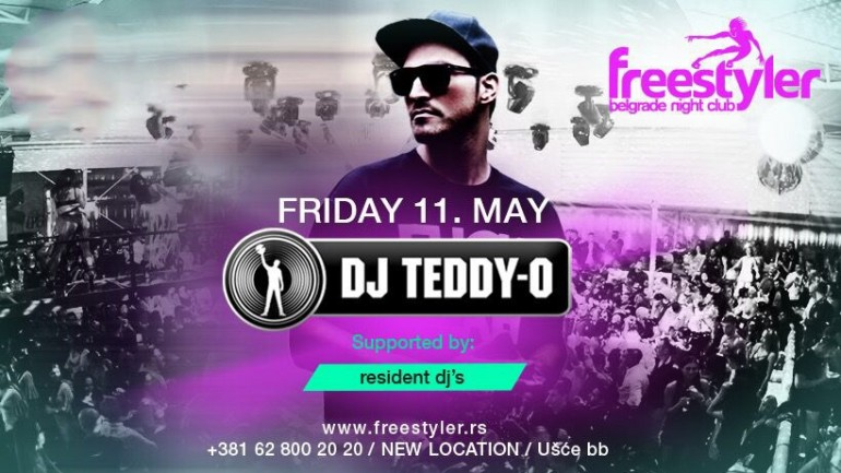 Ne možete na Ibicu? Ibica stiže u Beograd! TEDDY-0. u petak na splavu FREESTYLER!