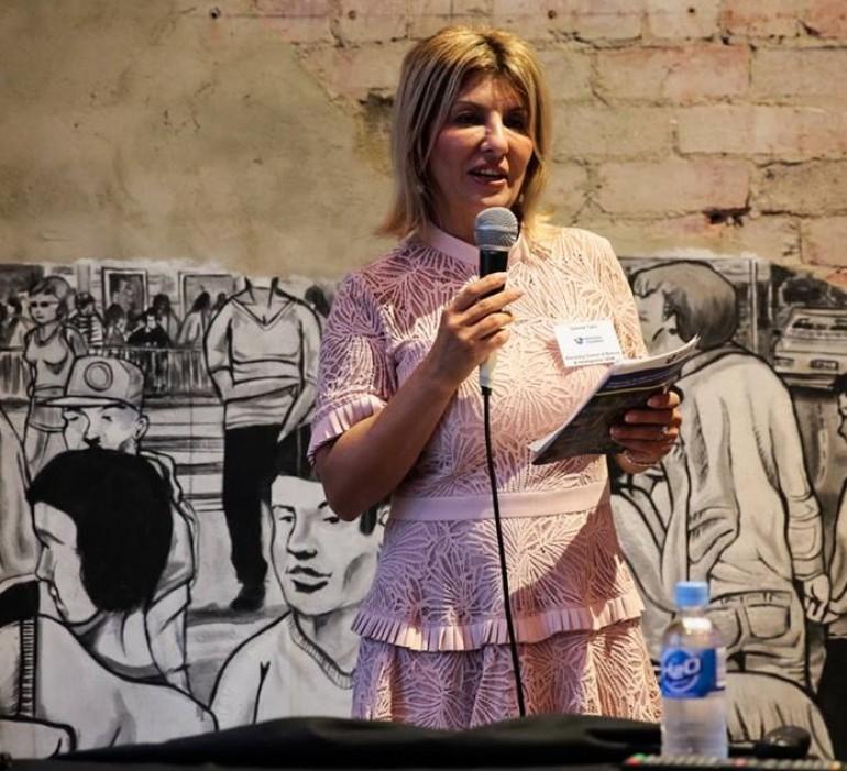 "Đemila Talić-Gabriel na 5. Biznis forumu bh. dijaspore ""BHdiaFor 2018."" u Mostaru"