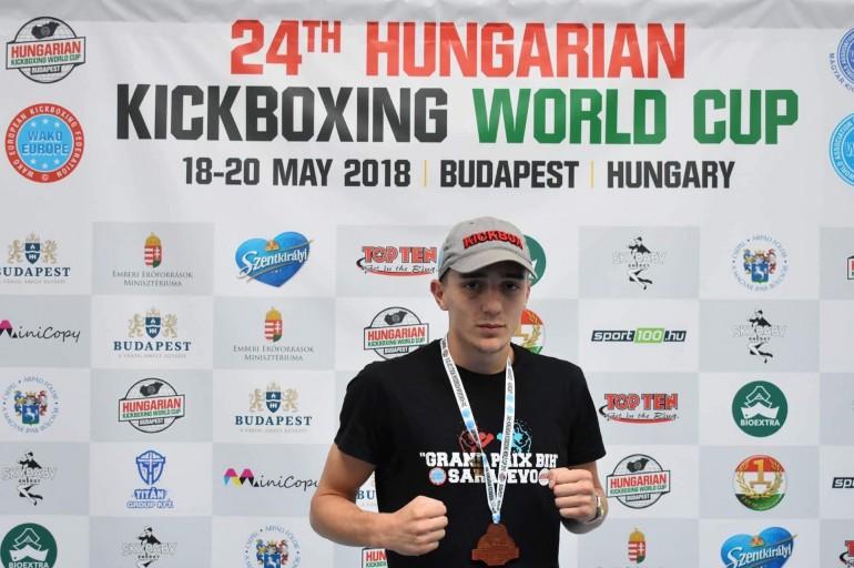 Edin Sinanović na Svjetskom kupu u Budimpešti osvojio bronzu