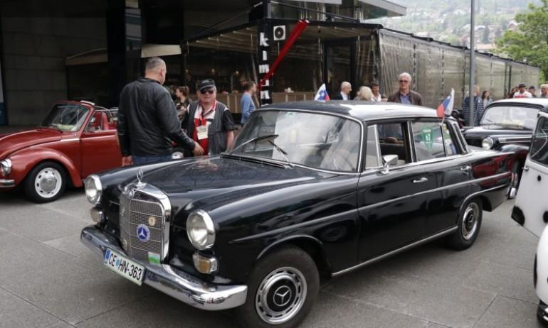 Možda posljednja izložba oldtimera u Sarajevu, izložen i Mercedes iz 'Otpisanih'