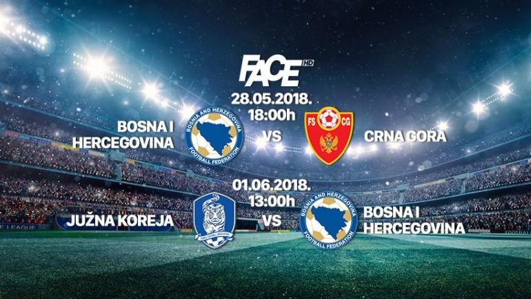 Prijenos utakmice Južna Koreja – BiH od 13 sati na Face TV, specijalni program od 11.45