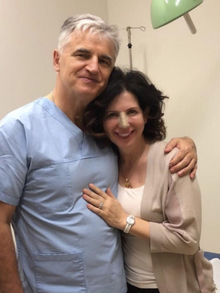 Jasna Gospić riješila zdravstveni problem – Zahvaljujući doktoru Milomiru Ninkoviću ponovo normalno dišem