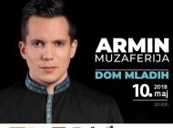 Koncert Armina Muzaferije 10. maja u Domu mladih- Na sceni sa pjevačem će biti specijalni gosti i gudački orkestar iz Ankare