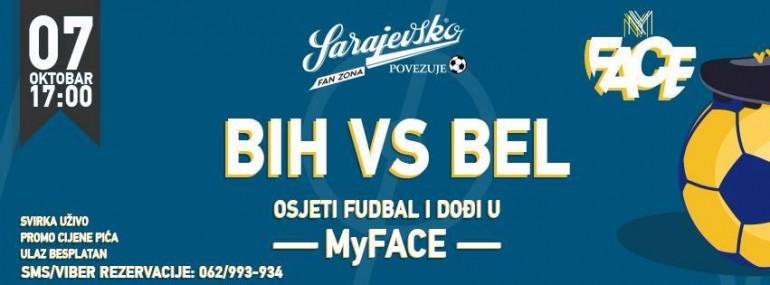 Osjetite nogometnu groznicu i u subotu u 17 sati dodjite u MY FACE/ Sarajevo