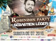 U prodaji su karte za Robinzon party – Očekuje nas fenomenalna zabava uz Sébastien Légera