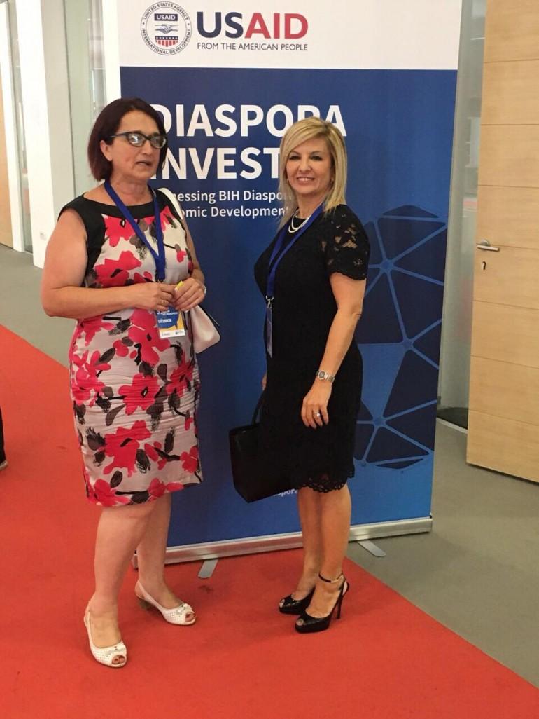 Đemila Talić-Gabriel na Biznis forumu bh. dijaspore u Mostaru: Na dijasporu se ne smije gledati kao na one koji poklanjaju novac, već kao na ozbiljne investitore