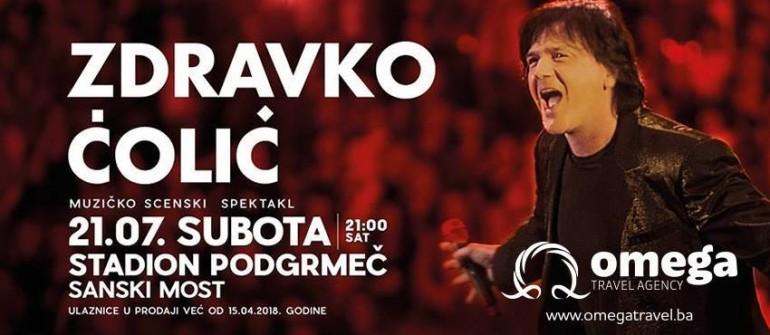 U subotu spektakl Zdravka Čolića u Sanskom Mostu, 4. augusta druži se sa publikom u Zvorniku