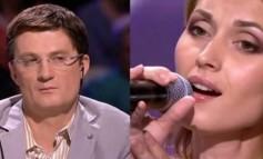 Žiri je prekinuo njen nastup jer su mislili da ne pjeva ona. Kad je muzika prestala, ostali su bez teksta!